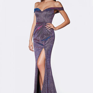 Leg Slit Bridesmaid Long Dress